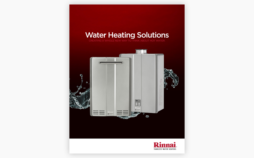 Rinnai Brochure Cover